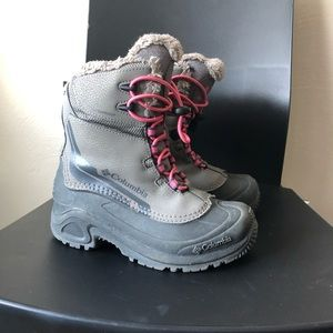 Kids Columbia girls snow boots